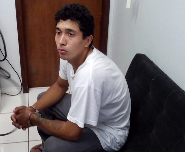 Marcelo Marssaro, 18 anos, foi quem agrediu a vítima. Foto: Evandro Artuzi/RBJ