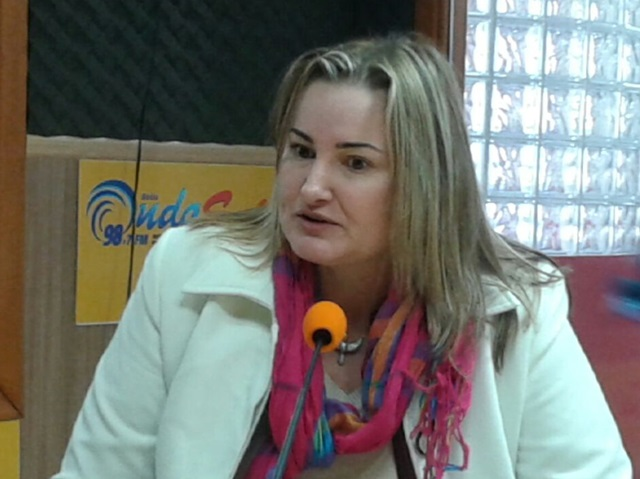 Jocelei Fiorentin, consultora do Sebrae/PR. Foto: Haroldo Vaz/ Onda Sul FM