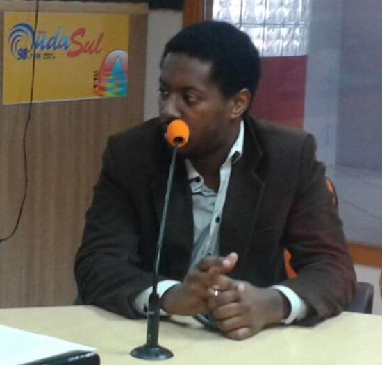 Acordeonista Vinícius Urbano é um dos produtores do evento. Foto: Haroldo Vaz (Rádio Onda Sul FM)..