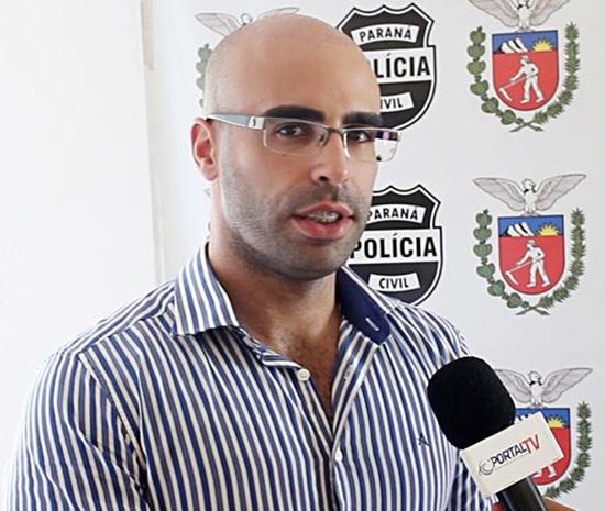 Delegado Max Dias Lemos. Foto: Portal TRI