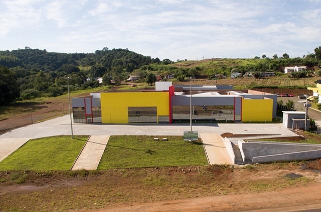 Nova estrutura do CRE, em Francisco Beltrão, que será inaugurada em breve. Foto de divulgação