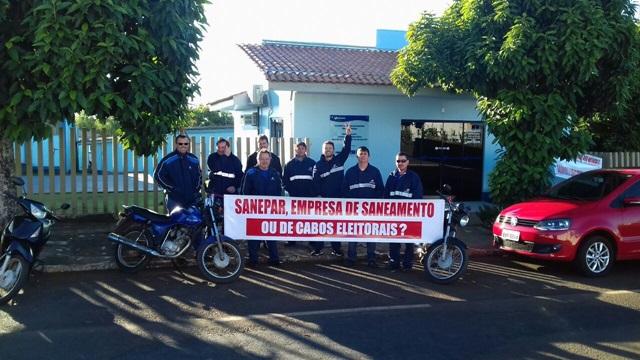 Servidores de Dois Vizinhos também aderem a greve. Foto: Divulgação