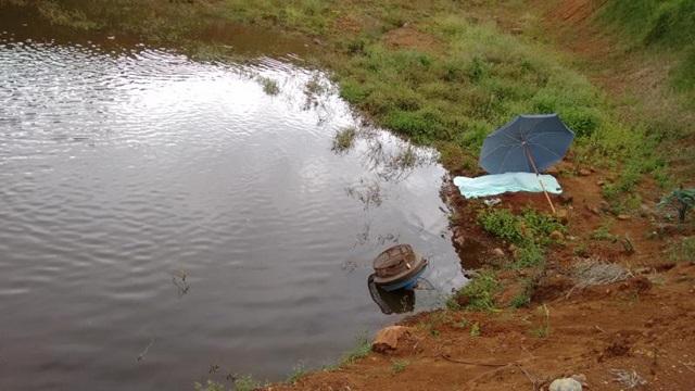 Local onde ocorreu o incidente com o agricultor. Foto: Polícia Militar