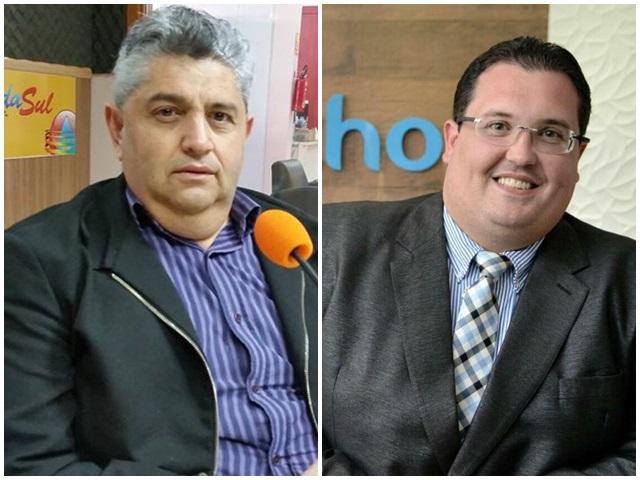 Jocemar Madruga (PDT) e Luciano Spessatto (PV) definem pré-candidaturas a prefeito e vice. Foto de divulgação
