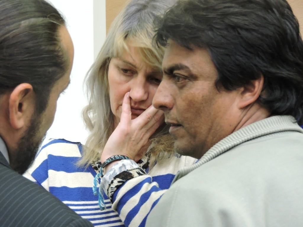 Nilton e Elvi condenados a 15 anos de prisão cada. Foto: Francione Pruch