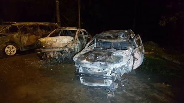 Carros acidentados foram recolhidos pela PRF. Foto: João Carlos Frigério