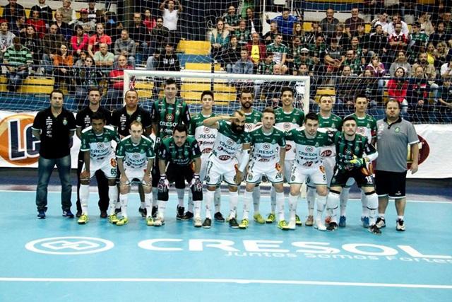 Cresol/Marreco futsal. Foto: Assessoria