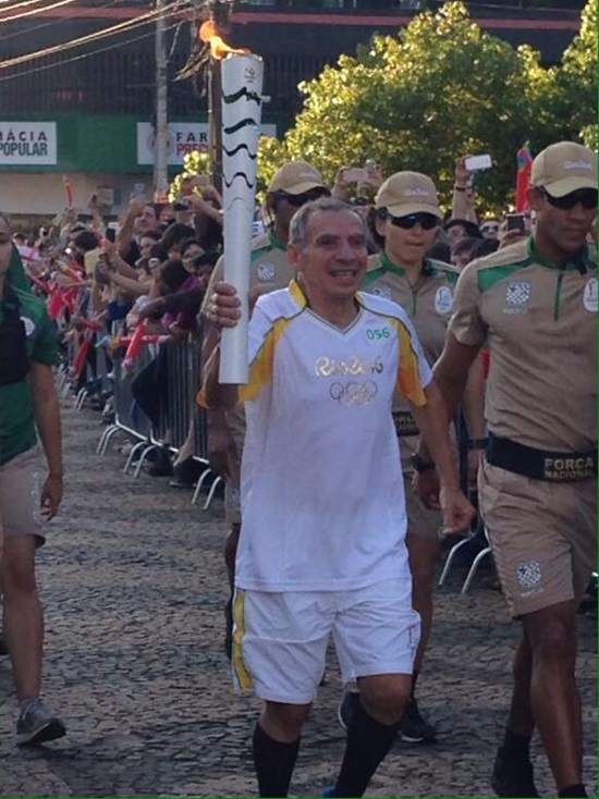 Luiz Carlos Mendes (Sarará) encerrou o percurso. Foto: Reprodução Facebook