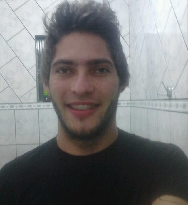 Cleomar Ferron, 24 anos. Foto: reprodução Facebook