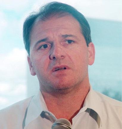 Clóvis Matheus Cucolotto, prefeito de São João na gestão 2012. Foto de divulgação