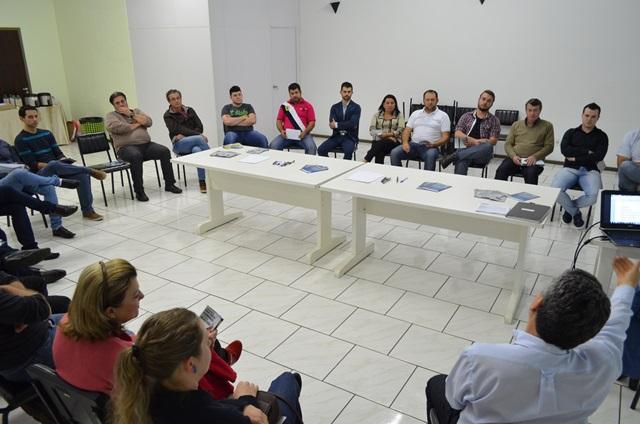 Representantes de ACEs vem de várias cidades distantes de Beltrão para se engajar nos assuntos da região. Crédito: Darce Almeida/Cacispar.