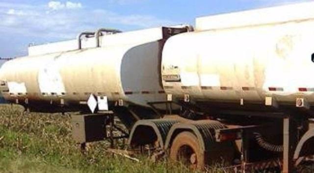 Caminhão estava a cerca de dois quilômetros de rodovia. Foto de divulgação