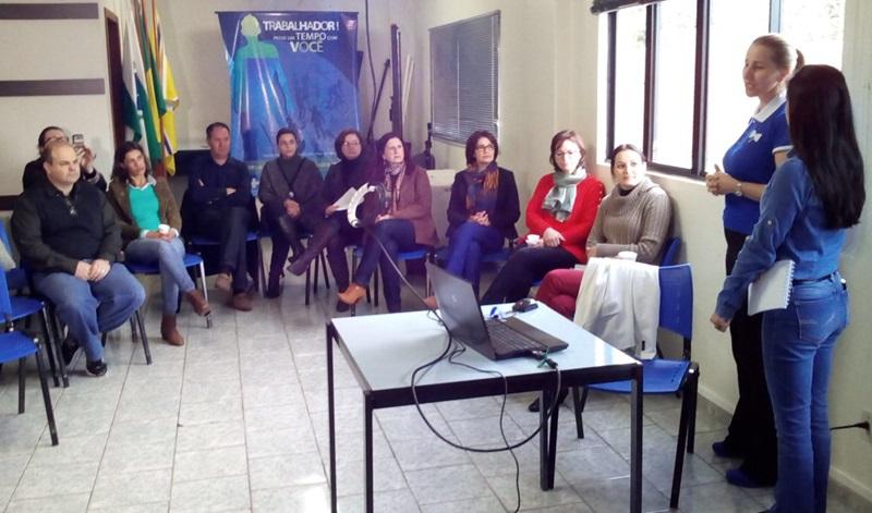 Colaboradores da 8ª Regional prestigiaram o lançamento da campanha. Foto: Evandro Artuzi/RBJ