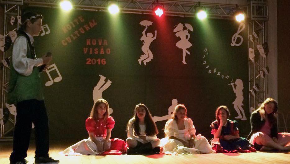 Apresentação da Noite Cultural / Foto: Colégio Nova Visão