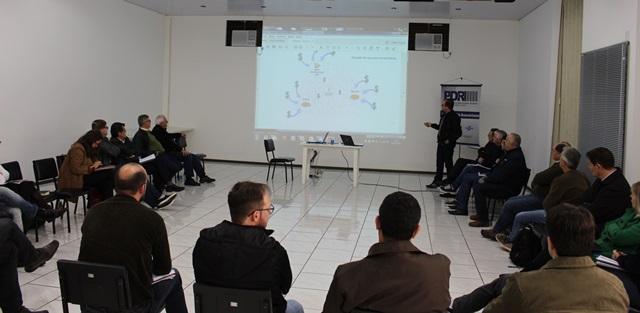 Pagno falou sobre os exemplos de cadeias propulsivas em outras regiões. Foto de divulgação