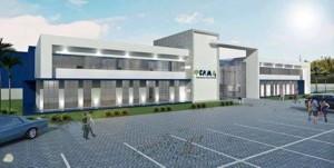 Projeto arquitetônico para novo Campus