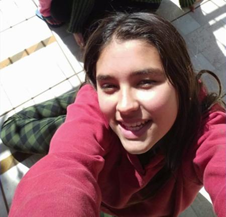 Adriele Aparecida do Amaral Pontes , 15 anos. Foto: Arquivo familiar
