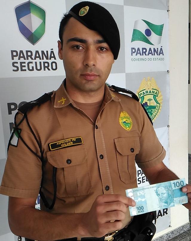 Aspirante Wilder (21º Batalhão de Francisco Beltrão). Foto: Evandro Artuzi/RBJ