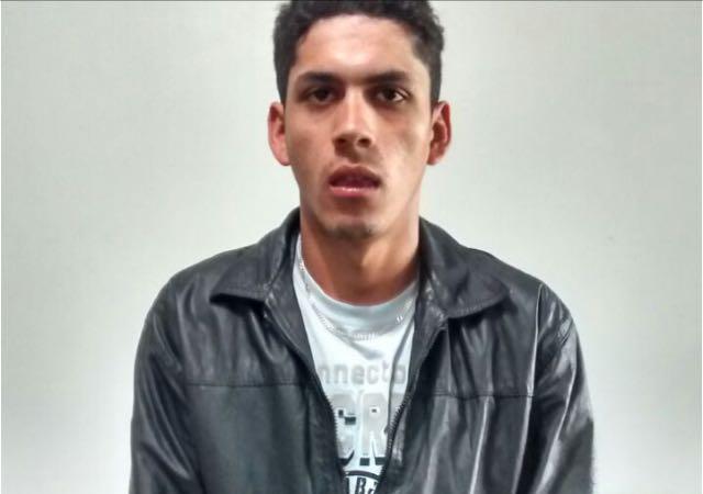 Alex Vasconcelos Alves, 20 anos.