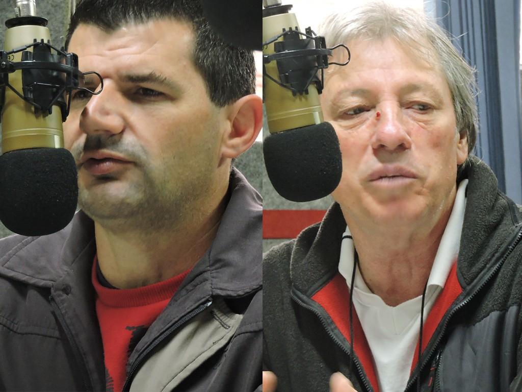 Candidatos Verdi e Enio / Foto: Edson Zuconelli