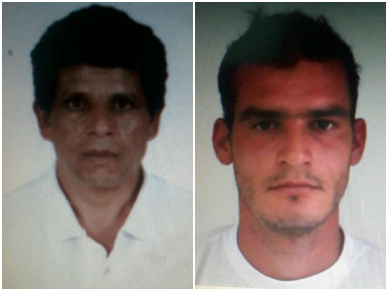 Fernando Oliveira de Lara, 40 anos, e Roberto Pasquali, 27 anos, foram os dois mortos.