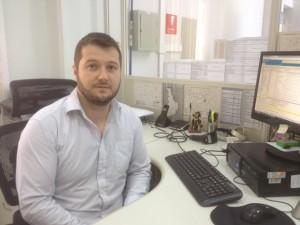 Arno, chefe do Cartório Eleitoral de Francisco Beltrão / Foto: Francione Pruch