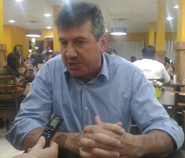 Luiz Tomacheski. diretor de Ações Estratégicas da Cresol Baser. Foto: Viviane Kich