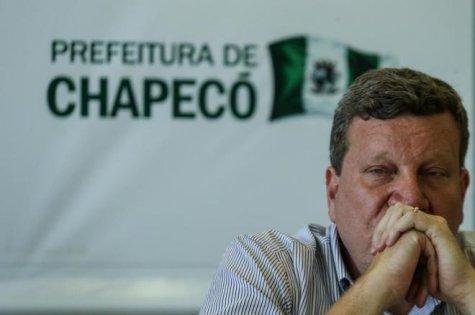 Prefeito de Chapecó (SC), Luciano Buligon. Foto: Marco Favero / Agëncia RBS)