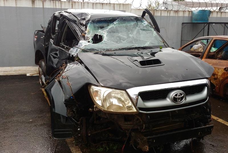 Polícia acredita que veículo seria entregue na Argentina. Foto: Evandro Artuzi/RBJ