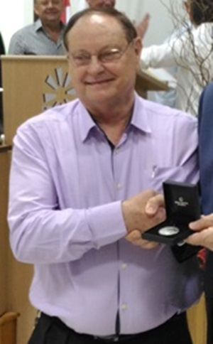 Lotário Dierings, atual presidente, foi o idealizador do Sicredi Iguaçu. Foto: Evandro Artuzi/RBJ