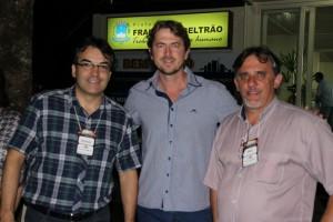 Neto, Zeca e Eduardo / Foto: Assessoria