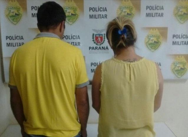 Casal que portava cheques falsificados foi entregue à Polícia Civil. Foto de divulgação