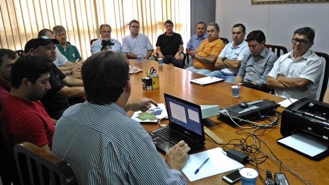 """Comissão """"Sudoeste sem Pedágio"""" é formada por lideranças de vários setores. Foto: Evandro Artuzi/RBJ"""