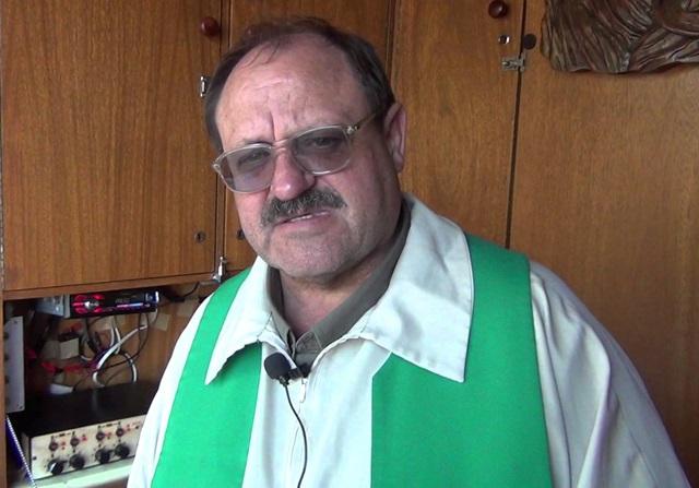 Padre Miguel Staron está na Pastoral Rodoviária desde 1993 e viaja por todo o Brasil. Foto de divulgação