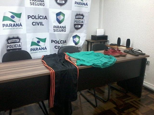 Roupas usadas pelos acusados no dia do crime foram apreendidas. Foto: Sebastião Maciel