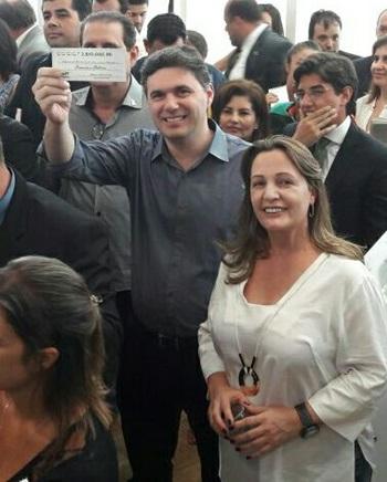 Francisco Beltrão recebeu cerca de R$ 2,8 milhões. Foto de divulgação