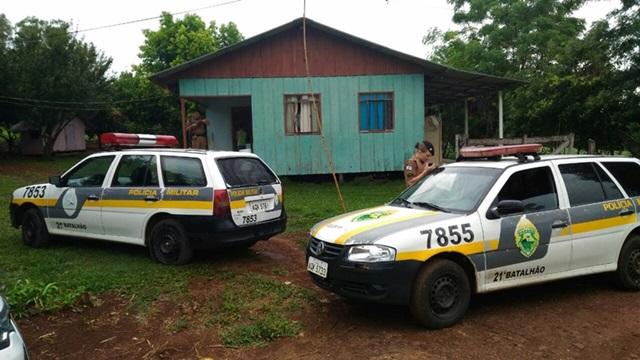 Polícia Militar mobilizou várias equipes para atender a ocorrência. Foto: Evandro Artuzi/RBJ