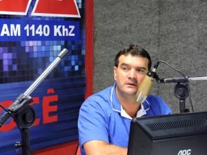 Amarildo Secco, autor do projeto que reduziu o salário dos vereadores em 50%. Foto: Arquivo RBJ.