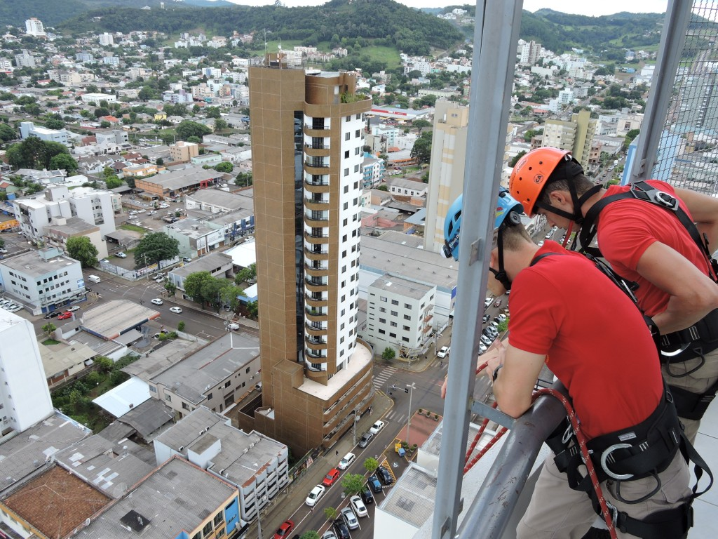 treinamento na Torre / Foto: Francione Pruch