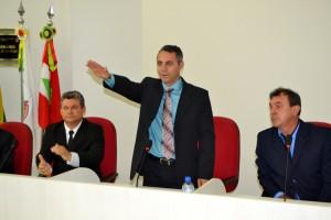 A posse do prefeito interino acontece na tarde de hoje (27) (Foto:Guia Tem Abelardo Luz)