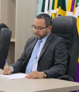 Reconduzido ao cargo, prefeito de Bituruna, Claudinei Castilho (Foto:Lucilene Castro)