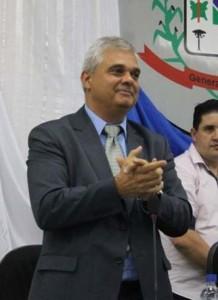 Prefeito de General Carneiro, Luis Geller (Foto:Lucilene Castro)