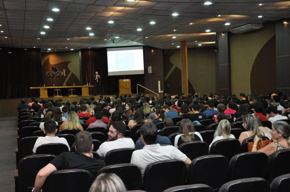 Palestra sobre direito do consumidor e neurociência / Foto:Assessoria