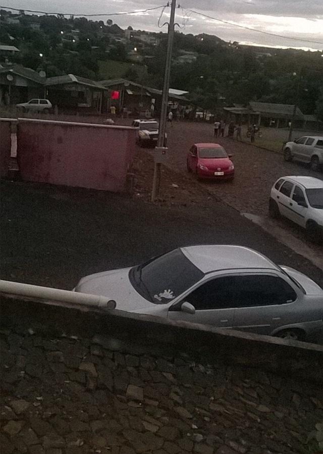 Ocorrência foi registrada no Bairro Laticínio. Foto: Divulgação Polícia Militar