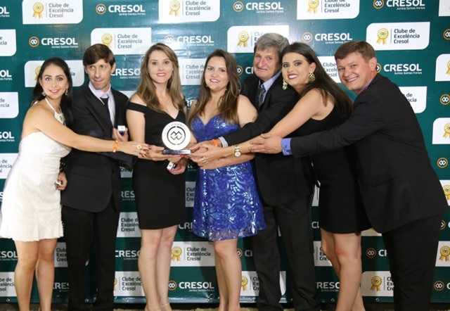 Premiados durante o evento. Foto de divulgação