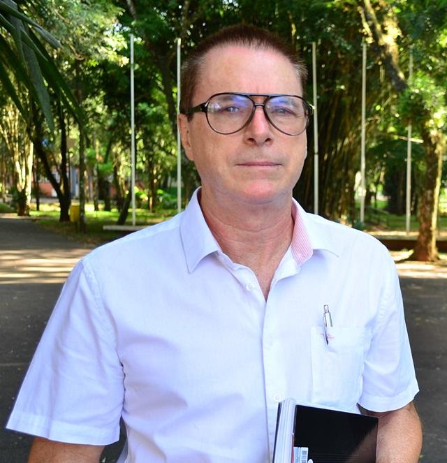 Antonio Pedron, vice-prefeito de Francisco Beltrão e secretário de Planejamento.Foto: Darce Almeida/Acefb.