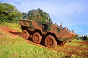 A 15º será o primeiro Quartel de engenharia a receber o novo carro de combate.