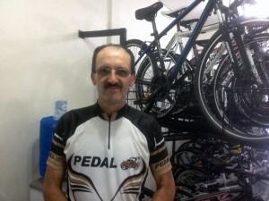 Alceu Basso após retornar de Curitiba ; Foto: Francione Pruch