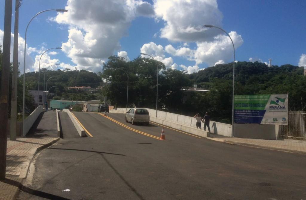 Trânsito liberado / Foto: Francione Pruch