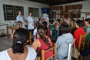 Enfermeiras da UBS, Francielle Guzzo e Daniele Fontana. Foto: Assessoria.